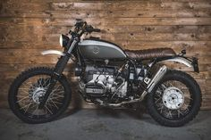 "BMW R100GS 'ELEGANT ESCAPE' BY OFFICINE SBRANNETTI POSTED IN RIDES BY MIKE WALDRON Take the picturesque Italian landscape and Steve McQueen's Great Escape as inspiration for a motorcycle and, when executed properly of course, you have the recipe for one outstanding scrambler. Officine Sbrannetti, a custom bike workshop located on the Northwestern coastline of Italy, has done that with excellence, appropriately naming their build ""Elegant Escape."" [http://www.officinesbrannetti.com/]"