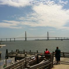 View from Aquarium Wharf - Charleston, SC