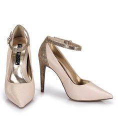 Sapato Ramarim 13-63105 - Ouro - Passarela.com