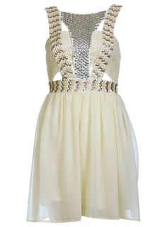 Embellished Strap Dress