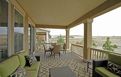 Would you LIKE to be sipping iced tea on this covered deck in Colorado?