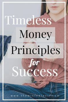 Four money or financial principles to live by to get you closer to your money goals, start building your wealth, and ultimately financial independence.
