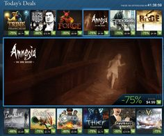 Steam starting the year with a bang by announcing an encore weekend to the Steam Holiday Sale. The most popular titles are going on sale from 10am PST on Saturday,January 5th to 10am Monday, January 7th. Steam has the Trine franchise, Crysis franchise, Amnesia: The Dark Descent, and Rage for 75% off, Sleeping Dogs for 66% off and Forge for 50% off. Spec Ops The Line, Bioshock 1, January 7th, Devil May Cry 4, Scary Games, I Am Alive, Fallout New Vegas, Amnesia, Sleeping Dogs