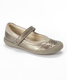 Look at this #zulilyfind! Pewter Ritzy Roo Tod Leather Mary Jane #zulilyfinds