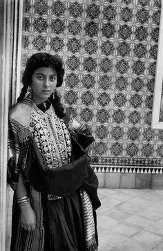 "tanyushenka: "" Photography: ""Tunisia. Traditional costume of Madhia. 1959"