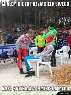 Daniel André Tande and Andreas Stjernen after the second round - Titisee-Neustadt Very Funny Memes, Wtf Funny, English Memes, Ski Jumping, Its Time To Stop, Skiing, Haha, Nostalgia, Humor