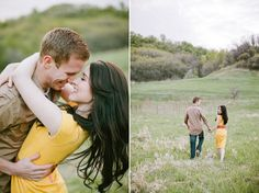 Really sweet engagement photo session. Some great inspiration!