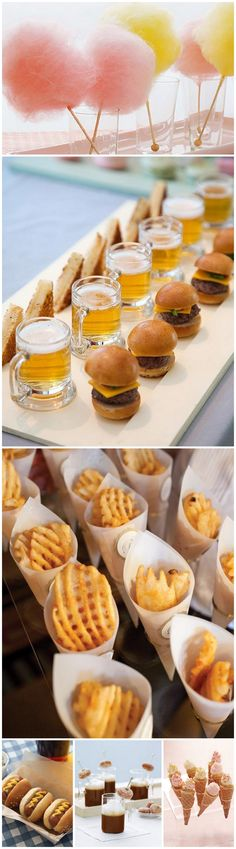 One of the top 20 wedding trends for 2013 is late night snacks, bite size foods. For more on 2013 wedding trends visit our blog at www.eventpros-la.com/blog