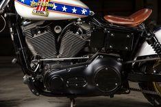 Harley Davidson Dyna, Custom Harleys, Custom Bikes, One Cafe, Lightning, Tours, Austria, Motorcycles, Plate