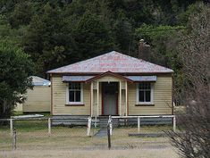 Otira was a railway town complete with prefabricated railway houses - all built to the same basic pattern, but each house features unique finishing touches.