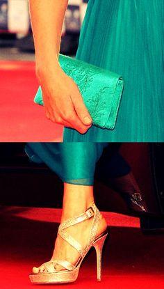 Kate Midddleton  Gold sandal