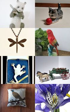 For The Love Of Animals  TeamVintageUSA   by Patti Turon on Etsy--Pinned with TreasuryPin.com