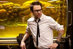 'Pacific Rim' star Charlie Day reveals that director Guillermo Del Toro originally planned to make nerdy kaiju enthusiast Dr. Newton Geiszler into a villain. Charlie Day, Pacific Rim, Sunny In Philadelphia, It's Always Sunny, Opera Singers, To My Future Husband, Nerdy, Actors, My Love