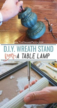 DIY Wreath Stand | H