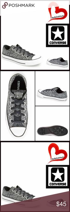 ❗️1-HOUR SALE❗️CONVERSE SNEAKERS Stylish Oxford CONVERSE SNEAKERS Stylish Print Classic Oxford  SIZING: Women  COLOR: Reflective, black, black stripe, white  ABOUT THIS ITEM * Round rubber cap toe * Lace-up vamp closure * Allover print * Black stripe outsole * Topstitch detail MATERIAL Canvas upper, rubber sole  ❌NO TRADES❌ ✅BUNDLE DISCOUNTS✅ OFFERS CONSIDERED (Via the offer button only)   SEARCH WORDS #  Animal reflect leopard all star Chuck Taylor wedge Converse Shoes Sneakers