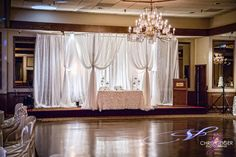 Wedding Head Table UpLighting
