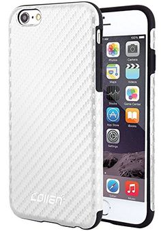 iPhone 6s Case,Collen® [Tough Ployurethane] Ultimate protection with Durable TPU Impact Defender Case for iPhone 6 Case - White A04 collen http://www.amazon.com/dp/B016UG7KDC/ref=cm_sw_r_pi_dp_svtAwb1JM3Q8X