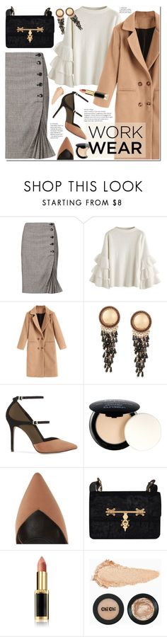 """60-Second Style: Work Wear"" by duma-duma ❤ liked on Polyvore featuring Reiss, NYX, L'Oréal Paris, WorkWear and 60secondstyle"