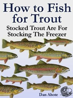 Today's Free and Bargain eBooks are a selection of How To books including this one, How To Fish For Trout. Lots of good stuff here today including how to quilt, make kombucha, decorate cakes, and lots more! Free Kindle Books, Free Ebooks, Kombucha How To Make, Trout Fishing Tips, Kombucha Tea, Canning Recipes, Freezer, Stockings, Amazon Today