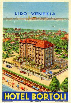 Hotel Bortoli, Lido, Venezia, Italy