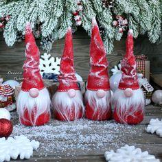 Купить Дед Мороз примитив - интерьерная, новогодняя кукла в интернет магазине на Ярмарке Мастеров