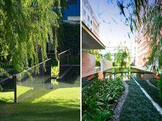 Sanitas studio y su nuevo diseño en el centro de Bangkok, Tailandia #barandillas #railings #corrimaos #vidrio #glass #vidro