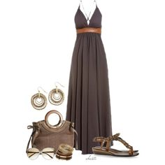 Long Dress by christa72 on Polyvore featuring Firetrap, Lanvin, Pier 1 Imports, Miss Selfridge, Victoria Beckham and Dsquared2