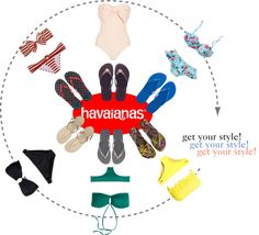 """""""Create #instantjoy with Havaianas"""" by giulia-z on Polyvore"""