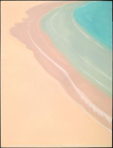 Alex Katz Shoreline, 1989 Oil on canvas 120 in. x 96 in. (304.8 cm x 243.84 cm)