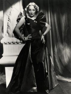 Travis Banton, Marlene Dietrich, 1930's