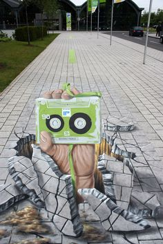 Sidewalk art.. My favorite so far