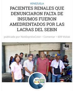 El SEBIN amedrentó a pacientes renales por protestar