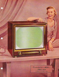 PHILCO Television, Phonograph and Radio 1955