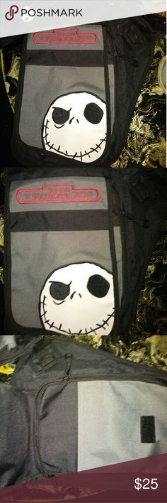 NWT Jack Skellington NMBC Cross Body Brand New. Cross body. Zips and has plenty of spaces to separate your cell and makeup etc. Roomy. Accessories