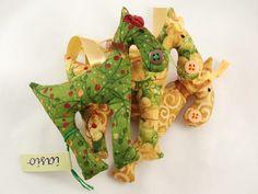 Reindeers  Christmas tree  3 x reindeer  decoration  by iasio, $25.00