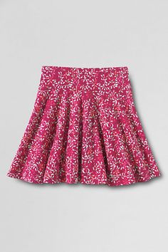 Girls' Knit Twirl Skort from Lands' End