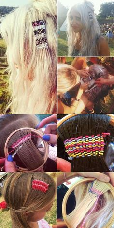 Latest Hair Trend You Have to Try: Hair Tapestries