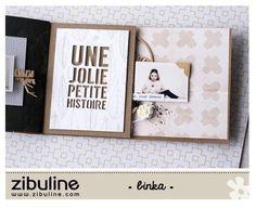 TUTO mini album « you » – Binka – L'univers de Zibuline