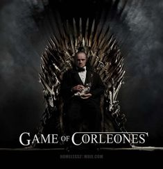 Game Of Thrones Movie, Game Of Thrones Artwork, The Godfather Wallpaper, Movie Chairs, Don Corleone, Iconic Movie Posters, Bad Art, Iron Throne, Minimal Poster