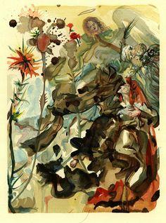 Salvador Dalí - Le Paradis (Dekomposition) + Textbd. 2 Tle.