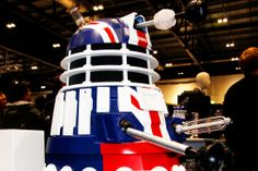 Win a LIFESIZE Union Jack Dalek in our Doctor Who competition courtesy of BBCSHOP.COM