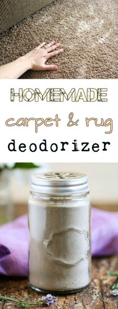 Homemade carpet and rug deodorizer - Cleaning Tips