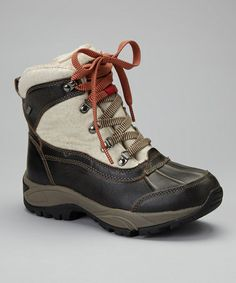 Take a look at this Taupe Rochelle Bomber Waterproof Snow Boot - Women by Kodiak on #zulily today!