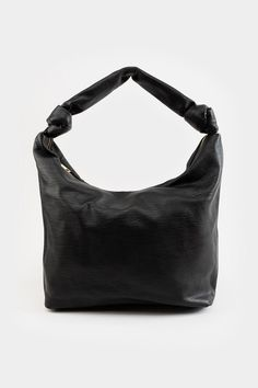 Lina Knotted Hobo Handbag Hobo Handbags, Black Handbags, Knots, Accessories, Outfit, Products, Fashion, Black Purses, Outfits