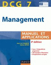 DCG 7 Management : manuel et applications, corrigés inclus, 2014. http://bu.univ-angers.fr/rechercher/description?notice=000607630