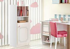 Παιδική βιβλιοθήκη Cakehouse 2107 Vanity, Loft, Bed, Furniture, Home Decor, Dressing Tables, Powder Room, Decoration Home, Room Decor