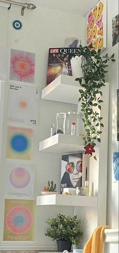 Room Design Bedroom, Room Ideas Bedroom, Bedroom Decor, Bedroom Inspo, Cute Room Ideas, Cute Room Decor, Room Wall Decor, Room Ideias, Pastel Room