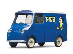 "1958 Goggomobil TL-400 Transporter ""PEZ"" - microcar"