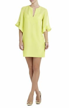 Tati Ruffle-Sleeve Dress | BCBG $248