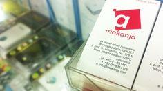 Makanja.com di ITC Roxy Mas Jakarta, sementara menggunakan kartu nama tebet.